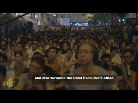 Hong Kong: Occupy Central - Part 1.