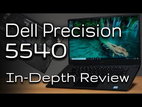 Dell Precision 5540 In-Depth Review with Internals Peak