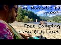 Free Camping on BLM Land with Portable Scratching on Numark PT01 Scratch The Nomadic DJ Ep 008