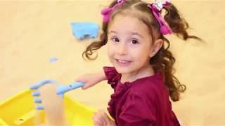 Gambar cover miray in the sandbox in the playground \funny kid video