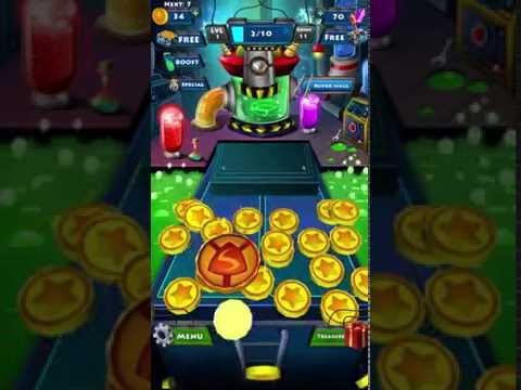 SuperHero Coin Dozer - Game Promo