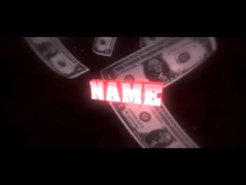 FREE MONEY Intro Template #01 Cinema 4D & After Effects