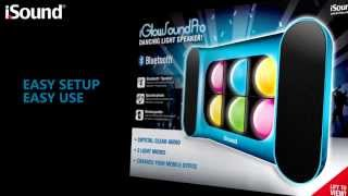 iGlowSound Pro Bluetooth Speaker with Dancing Lights (ISOUND-5257/-5259/-5268/-5270/-5271)