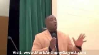 Best Motivational & Foster Care Speaker Mark Anthony Garrett Speaks on Relationships 614 732 3568