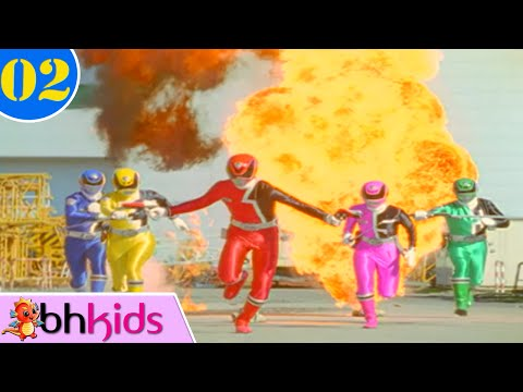 Lịch sử 5 anh em siêu nhân phiên bản Mỹ đồ chơi siêu nhân deka Power  Rangers SPD Toys 파워레인저 SPD 장난감