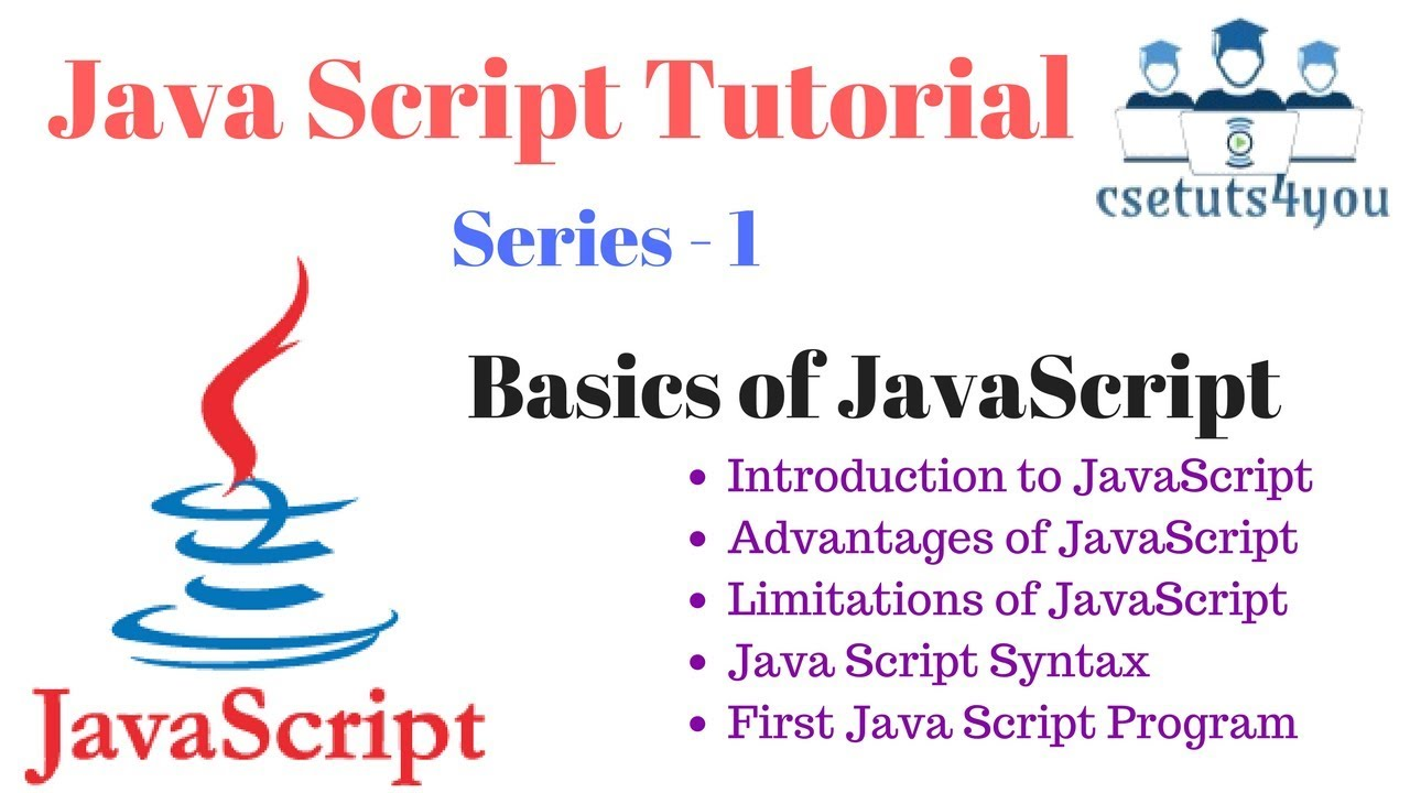 Javascript tutorial series 1 introduction to javascript youtube javascript tutorial series 1 introduction to javascript baditri Choice Image