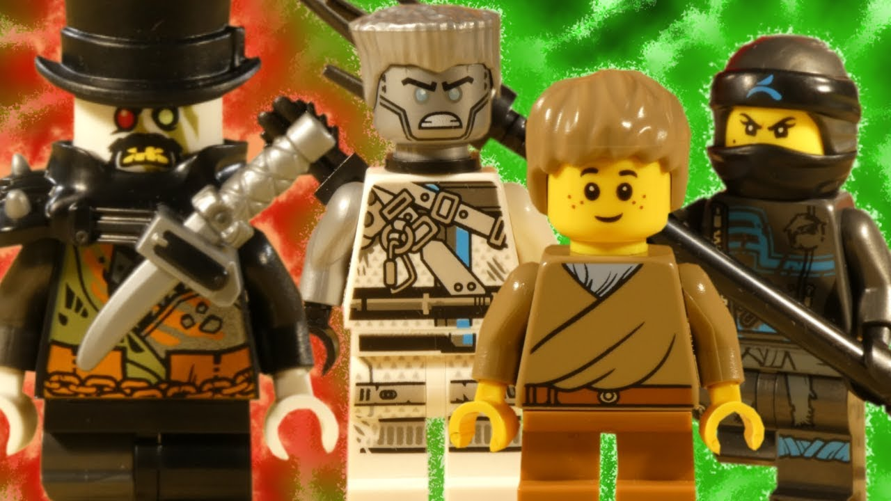 LEGO NINJAGO HUNTED PART 1 - TRAILER - THE HUNT BEGINS