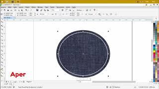 Como Fazer Efeito Costura no Corel DRAW