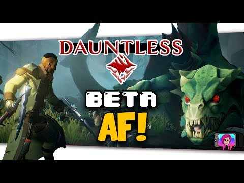 "The Daunting Task Of ""Dauntless"" Open Beta Launch Thoughts"