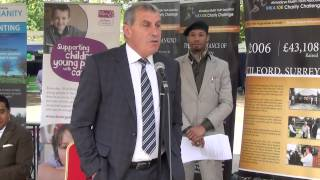 Mercy4Mankind Charity Challenge - Battersea Park - 2014 - opening session Part 1