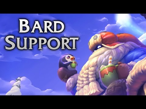 Snow Day Bard Support - Full Game Commentary