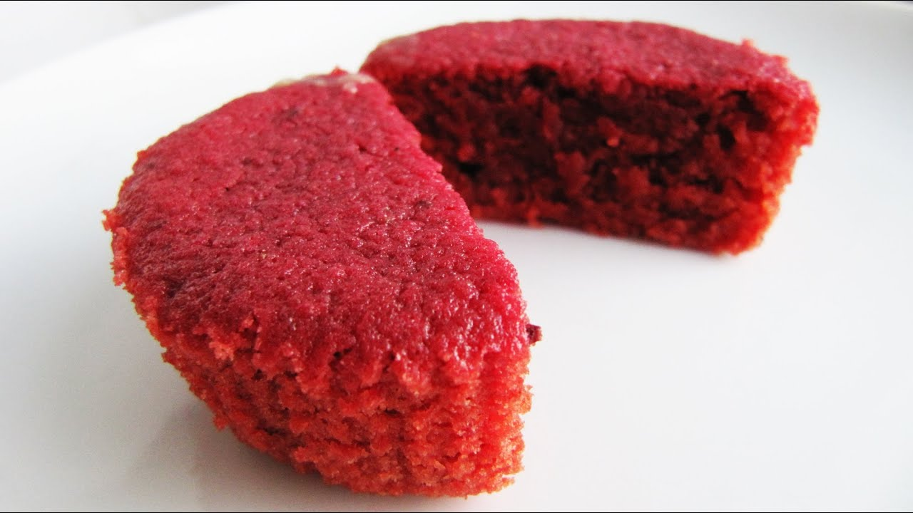 How to make Natural Red Velvet Cupcakes without Food Colouring ...