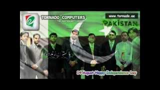 14 August Happy Independence Day 2011 - Tera Pakistan Hai Yeh Mera Pakistan Hai - Tornado Computers