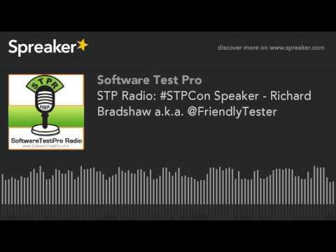 STP Radio: #STPCon Speaker - Richard Bradshaw a.k.a. @FriendlyTester