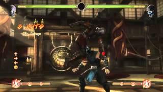 Mortal Kombat 9 - Ermac обучение + комбо