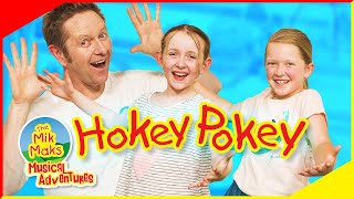 The Hokey Pokey Dance | Kids Songs and Nursery Rhymes | The Mik Maks Live Playroom