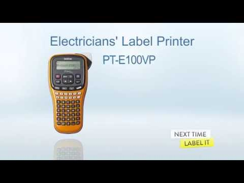 BROTHER PT-E100VP Industrial portable labeling machine