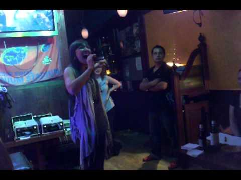 "Sunnyside Karaoke Idol 2011 Winner Barrie Linberg,""More Than a Feeling"""