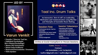 Taal Inc. Covid Compliant | Interactive | Online Sessions for Corporates and Groups