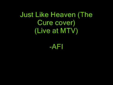 Just Like Heaven The Cure   At MTV  AFI