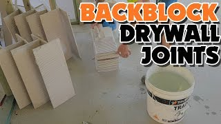 Back Blocking Drywall Plasterboard Ceilings for a better job