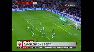 Copa del Rey: Barcelona 5-0 Celta de Vigo