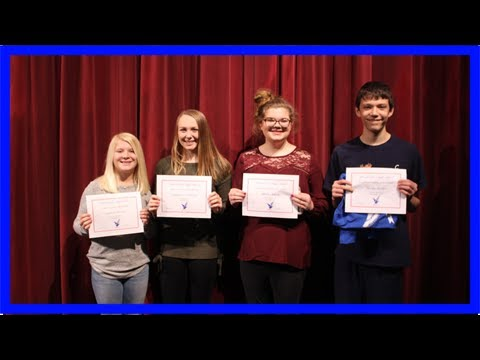 Messalonskee high school names students of the month