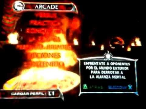 Como usar a Blaze y Mokap en Mortal Kombat Deadly Alliance PS2