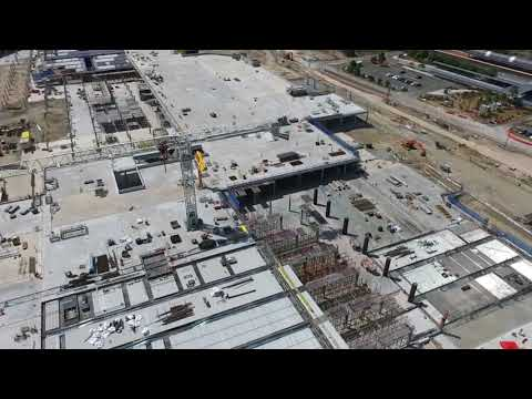 Westfield Coomera construction site