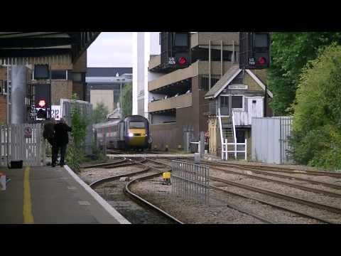 East Coast Main Line Diversions at Lincoln Central - 21st September 2013