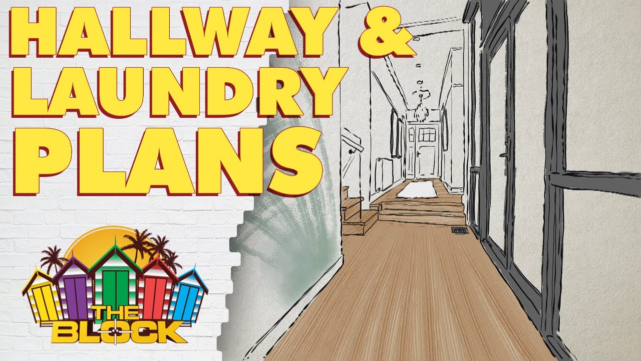 Everyone's plans for their hallway, laundry and powder rooms | The Block 2020