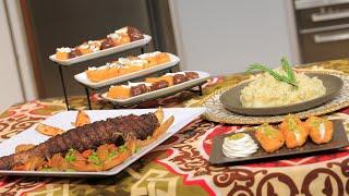بلح الشام الهش - عرق اللحمة الباردة - بطاطس بيورية بالاعشاب | حلو و حادق حلقة كاملة