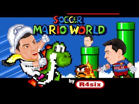 Soccer Mario World Cartoon Parody