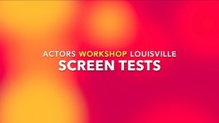 Acting coach in Louisville. Acting classes. Screen Tests.