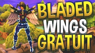 Have the BLADED WINGS backpack Free on Fortnite!!