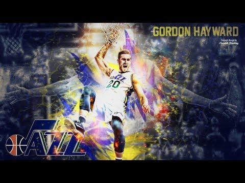 Gordon Hayward 2017 Mix - Utah Jazz Career Highlights