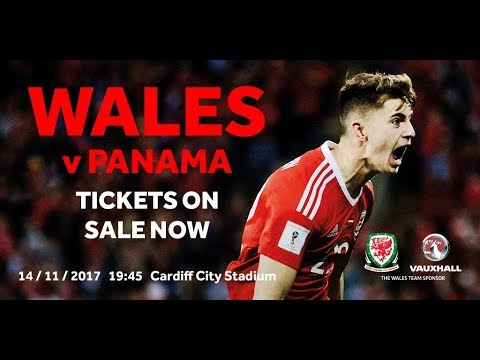 WALES v PANAMA - GET YOUR TICKETS NOW