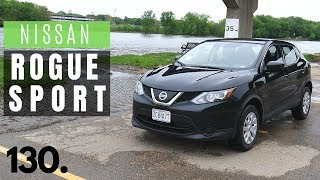 2019 Nissan Rogue Sport S // review, walk around, and test drive