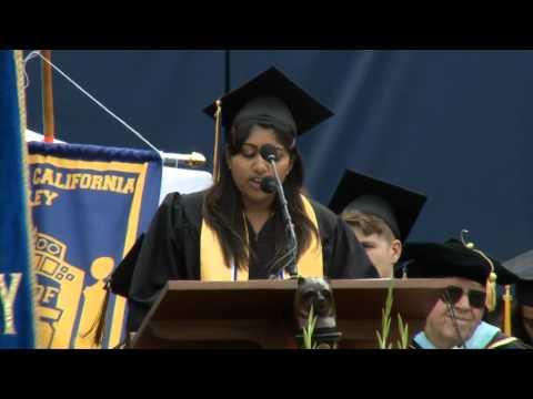 UC Berkeley Commencement 2015