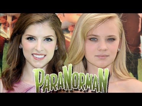 PARANORMAN Premiere Part 1: ANNA KENDRICK SNUB! Sierra McCormick!