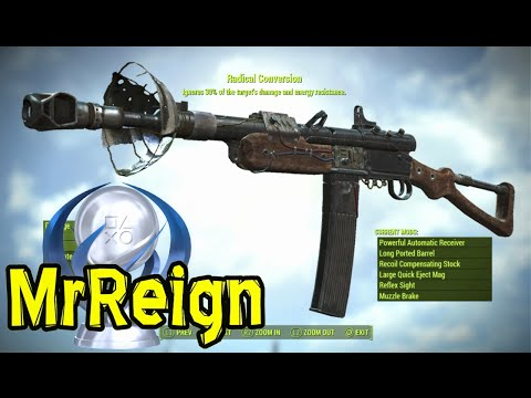 Fallout 4 - Far Harbor - RADICAL CONVERSION - Weapon Location & Full Mod Showcase