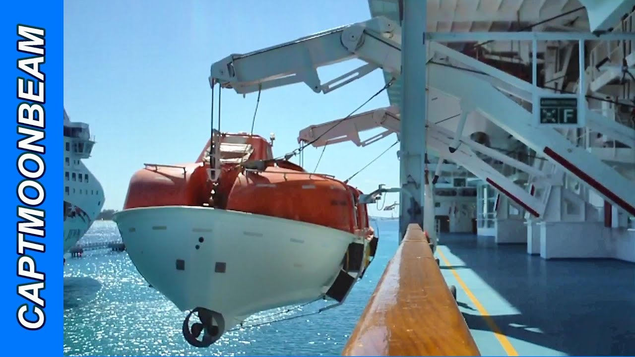 How Cruise Ships Test Their Lifeboats To The Max