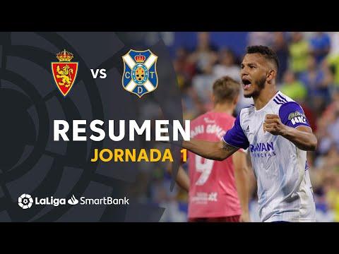 Resumen De Real Zaragoza Vs CD Tenerife (2-0)