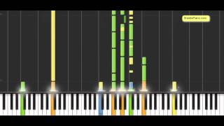 Bruno Mars - Just the way you are piano cover w/ sheet music