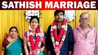 Actor Sathish Marriage