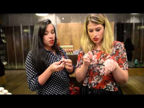 Loja da MAC Pro em NY com Julia Petit e Bruna Vieira