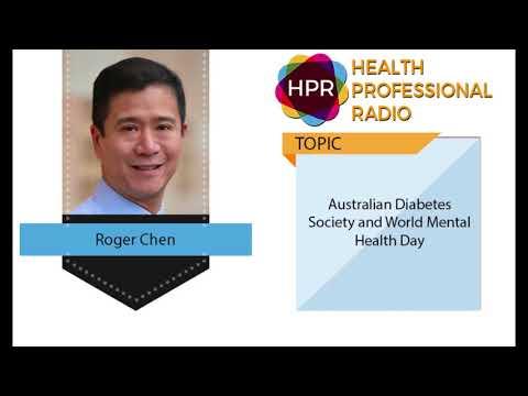 Australian Diabetes Society And World Mental Health Day