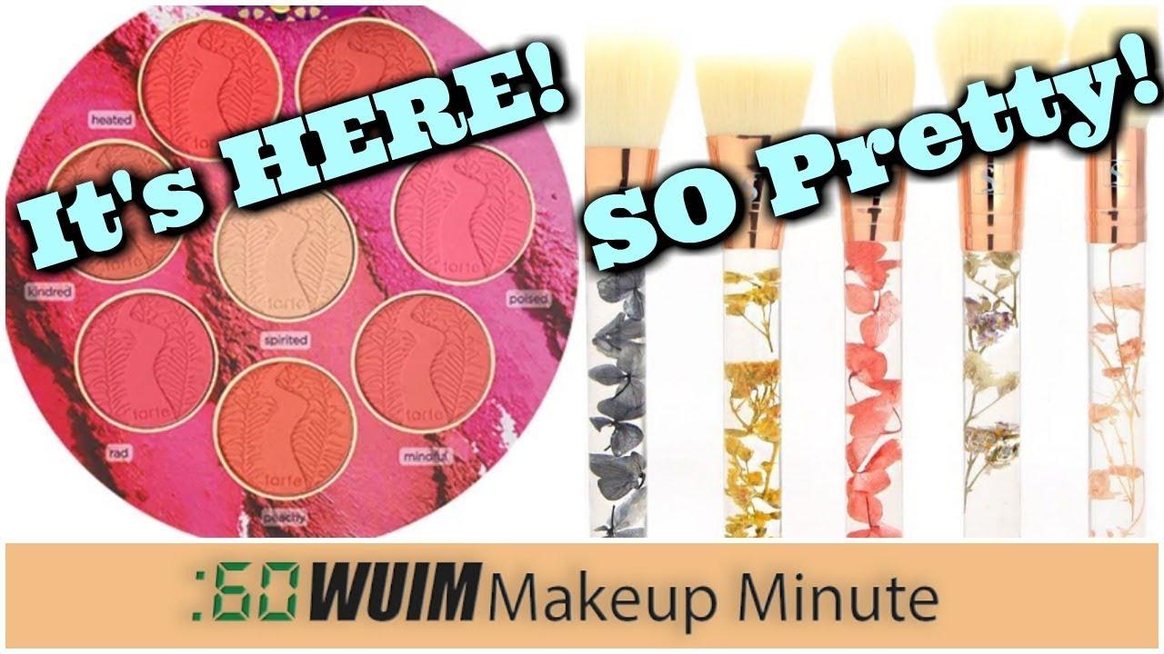 Tarte's Big Big Blush Book is HERE! + REAL FLOWER Makeup Brushes! OMG! | Makeup Minute. Jen Luvs Reviews