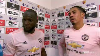 Watford v Man Utd | Lukaku and Smalling speak to BT Sport following 2-1 win (15/09/18)
