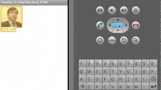 PowenKo, Android Tutorial 054-2, internet, WebView load local html and call javascript function.